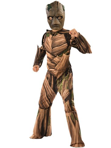 Teen Groot Infinity War Deluxe - Child Costume front
