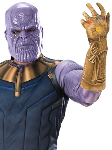 Thanos Infinity War Deluxe - Adult Costume left