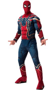 Iron Spider-Man Infinity War Deluxe - Adult Costume