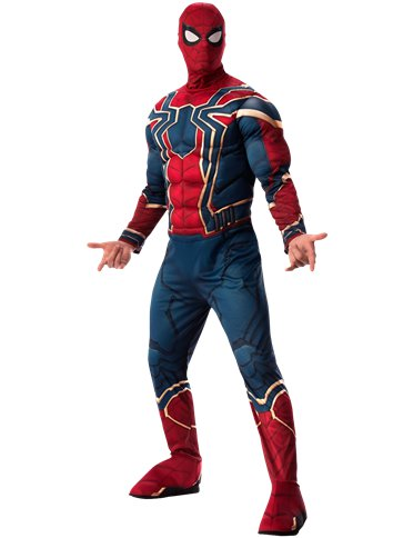 Iron Spider-Man Infinity War Deluxe - Adult Costume front
