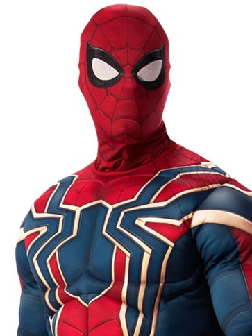 Iron Spider-Man Infinity War Deluxe - Adult Costume left