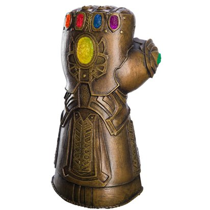 Deluxe  Infinity Gauntlet - Men's Avengers Superhero Fancy Dress Accessories front