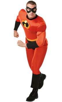 Mr Incredible Deluxe - Adult Costume