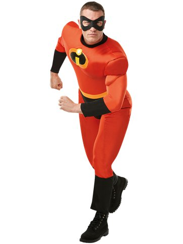 Mr Incredible Deluxe - Adult Costume front