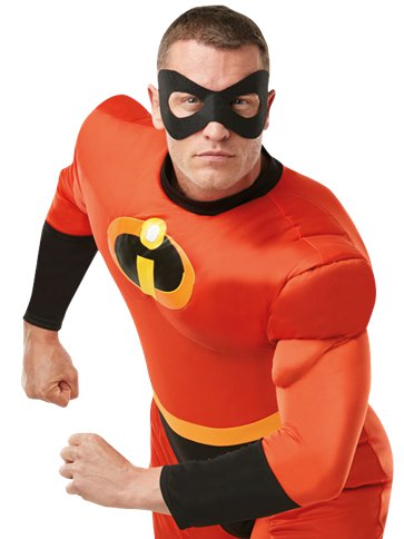 Mr Incredible Deluxe - Adult Costume left
