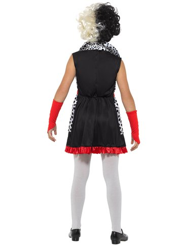 Evil Little Madam - Child Costume back