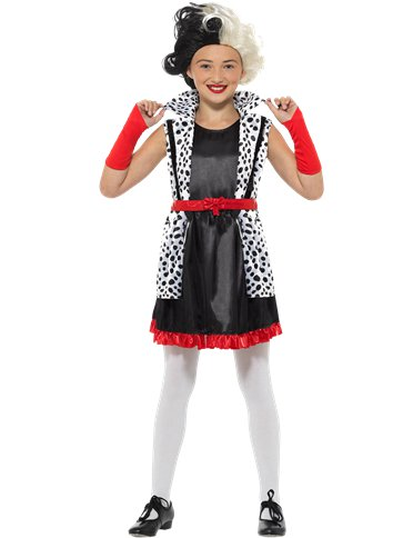 Evil Little Madam - Child Costume front