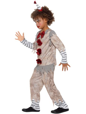 Vintage Clown Boy - Child Costume back