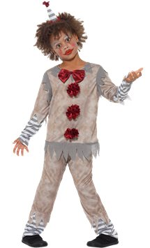 Vintage Clown Boy - Child Costume