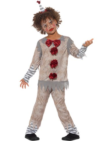 Vintage Clown Boy - Child Costume front