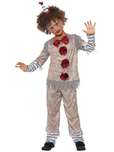 Vintage Clown Boy - Child Costume left