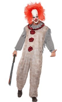 Vintage Clown - Adult Costume