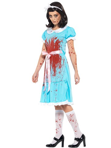 Bloody Murderous Twin- Adult Costume back
