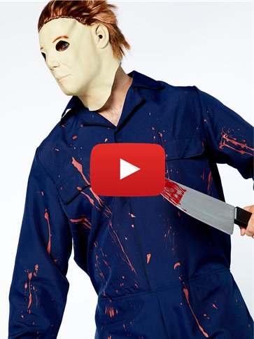 Halloween H2O Michael Myers video