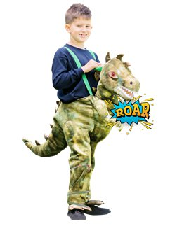 Ride On Light & Sound Dinosaur - Child Costume