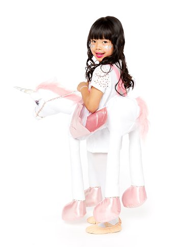 Ride On Light & Sound Unicorn - Child Costume back