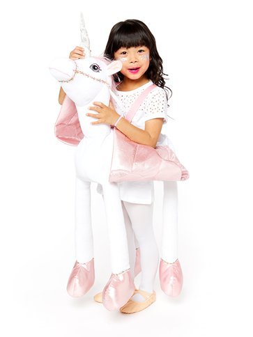 Ride On Light & Sound Unicorn - Child Costume left