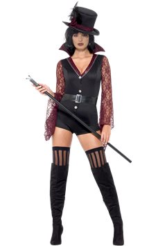 Fever Vampire Costume - Adult Costume