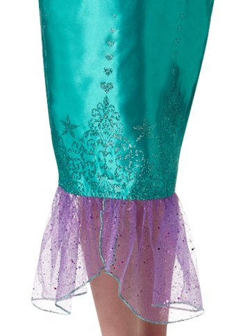 Disney Ariel Deluxe - Child Costume back