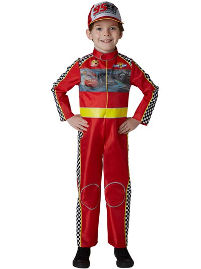 Cars Racing Mcqueen Deluxe - Child Costume