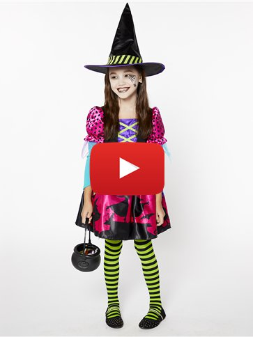 Spellbook Sweetie - Child Costume video