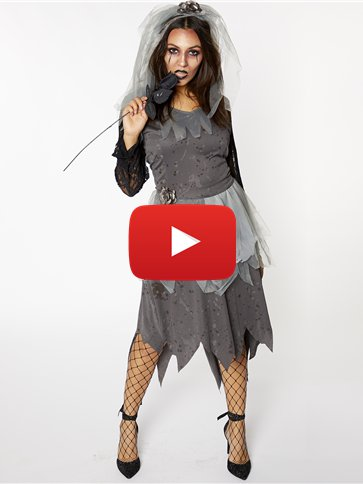 Corpse Bride - Adult Costume video