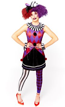 Harlequin Heartbreaker - Adult Costume