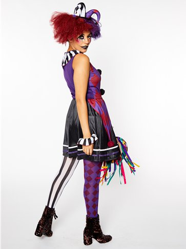 Harlequin Heartbreaker - Adult Costume left
