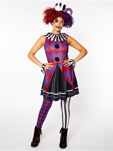 Harlequin Heartbreaker - Adult Costume pla