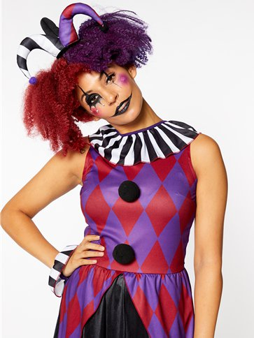 Harlequin Heartbreaker - Adult Costume right