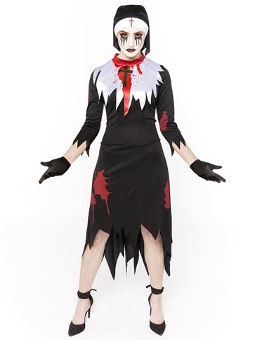 Deadly Nun - Adult Costume front