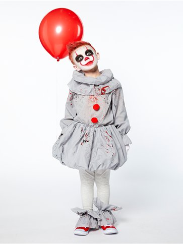 Creepy Clown - Child Costume back