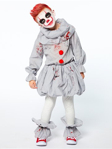 Creepy Clown - Child Costume front