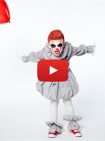 Creepy Clown - Child Costume video