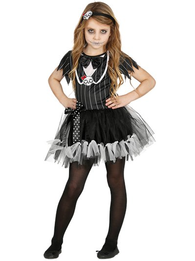 Miss Skeleton - Child Costume