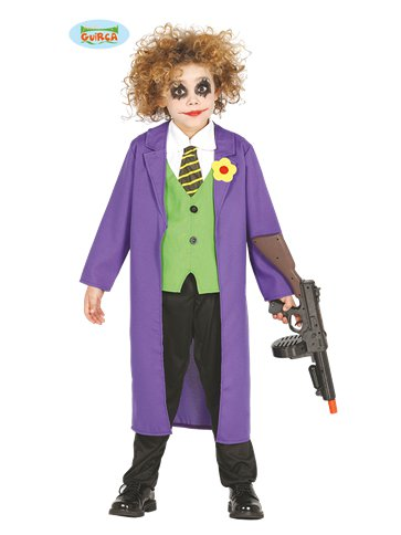 Clown Comic Villain - Child Costume front