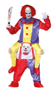 Let Me Go Ride-on Clown - Adult Costume