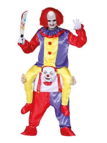 Let Me Go Ride-on Clown - Adult Costume front