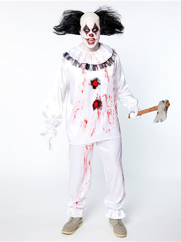Crazy Clown Adult Costume Party Delights