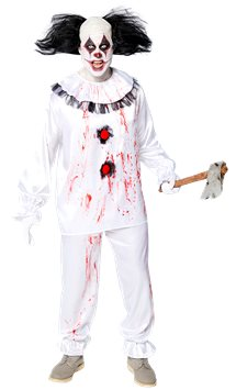 Crazy Clown - Adult Costume