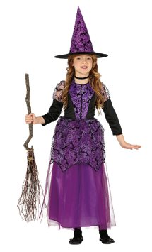 Purple Witch - Child Costume
