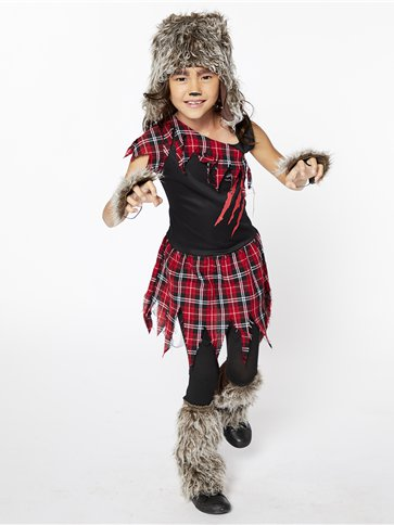Werewolf Girl - Child Costume front