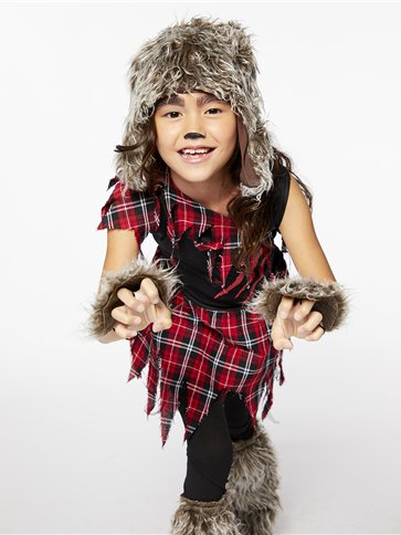 Werewolf Girl - Child Costume left