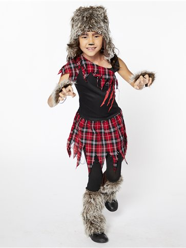 Werewolf Girl - Child Costume pla