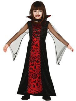 Vampire Witch Twilight Girls Teens Kids Dracula Halloween Costumes