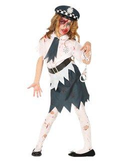 zombie police girl