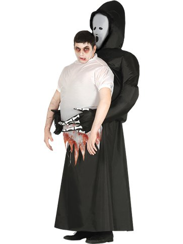 Inflatable Death - Adult Costume front