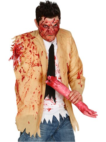 Zombie Shirt - Adult Costume front