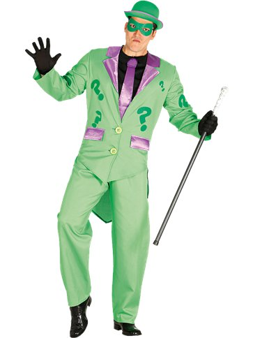 Green Comic Villain - Adult Costume front