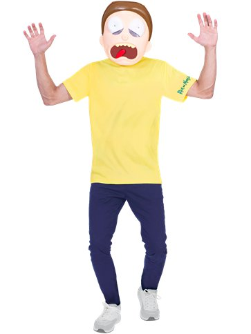 Morty - Adult Costume front